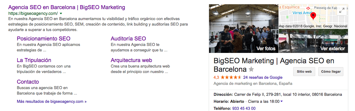 posicionamiento con SEO local